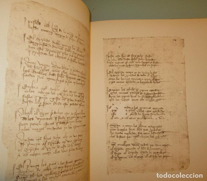 Libros de segunda mano: Libro del buen amor. Arcipreste de Hita - 3 t.(Contorno,Transcripción,Facsimil) - Espasa Calpe 1977 - Foto 14 - 67499925