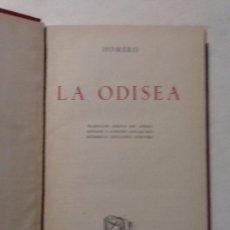 Libros de segunda mano: LA ODISEA. 1947 HOMERO OBRAS MAESTRAS . Lote 67643141