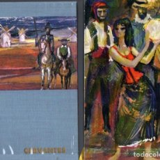Libros de segunda mano: MIGUEL DE CERVANTES. OBRAS (VERGARA, 1963) EDICIÓN ILUSTRADA, CON ESTUCHE. Lote 67951569