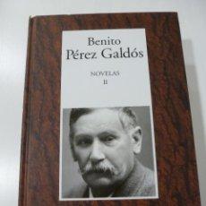 Libros de segunda mano: BENITO PÉREZ GALDÓS. NOVELAS II. RBA- INSTITUTO CERVANTES. Lote 67988449