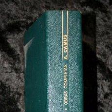 Libros de segunda mano: ALBERT CAMUS - AGUILAR - OBRAS COMPLETAS - TOMO 1 - NARRACIONES - TEATRO - PIEL - NUMERADO. Lote 68035137
