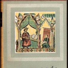 Libros de segunda mano: ANTOLOGÍA DE LA POESÍA ESPAÑOLA MEDIEVAL CASTELLANA, CATALANA, GALLEGA (IBERIA, 1966). Lote 213712560