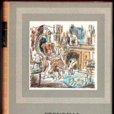 Libros de segunda mano: STENDHAL : LA CARTUJA DE PARMA (IBERIA, 1963). Lote 68146105