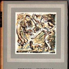 Libros de segunda mano: PERSIO Y JUVENAL : SÁTIRAS COMPLETAS (IBERIA, 1959). Lote 68146601