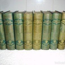 Libros de segunda mano: EDITORIAL AGUILAR. OBRAS COMPLETAS. 8 TOMOS (I AL VIII) - JACINTO BENAVENTE. Lote 69286145
