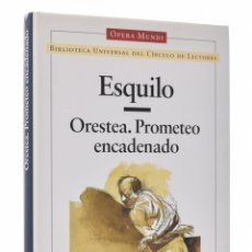 Gebrauchte Bücher - ORESTEA. PROMETEO ENCADENADO - ESQUILO - 69452689