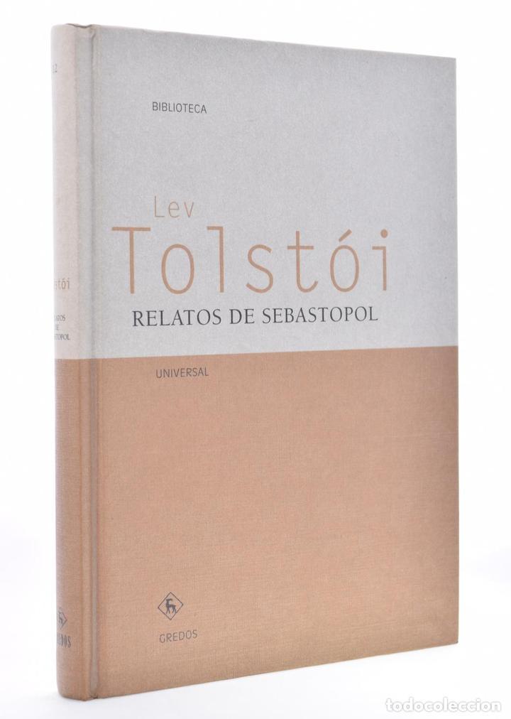 RELATOS DE SEBASTOPOL - TOLSTÓI, LEV (Libros de Segunda Mano (posteriores a 1936) - Literatura - Narrativa - Clásicos)