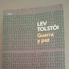 Libros de segunda mano: LEV TOLSTÓI, 'GUERRA Y PAZ'. Lote 69531241