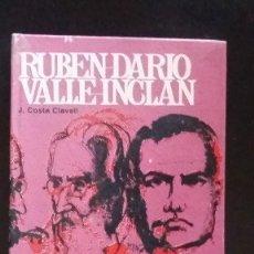Libros de segunda mano: RUBEN DARIO Y VALLE INCLAN - BLASCO IBAÑEZ BENAVENTE - AÑO 1967. Lote 69835789