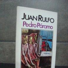 Libros de segunda mano: JUAN RULFO.PEDRO PÁRAMO.BRUGUERA LIBRO AMIGO.. Lote 70258321