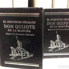 Libros de segunda mano: DON QUIJOTE, EDICIÓN CONMEMORATIVA EN MINIATURA, LIMITADA Y NUMERADA. Lote 148379616