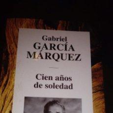 Libros de segunda mano: CIEN AÑOS DE SOLEDAD - GABRIEL GARCÍA MÁRQUEZ. Lote 72445767