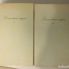 Libros de segunda mano: LA MONTAÑA MAGICA DE THOMAS MANN VOLUMEN I Y II. Lote 72739499