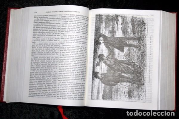 Libros de segunda mano: DICKENS - OBRAS COMPLETAS - TOMO VI - AGUILAR - 1962 - PIEL - Foto 2 - 73407547