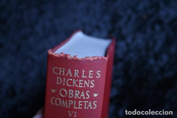 Libros de segunda mano: DICKENS - OBRAS COMPLETAS - TOMO VI - AGUILAR - 1962 - PIEL - Foto 5 - 73407547