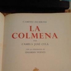 Libros de segunda mano: LA COLMENA - CAMILO JOSÉ CELA - EDICIÓN ESPECIAL CON 36 LITOGRAFÍAS DE EDUARDO VICENTE - 1966. Lote 73824903