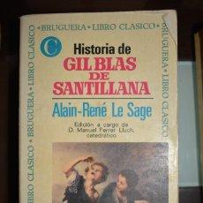 Libros de segunda mano: HISTORIA DE GIL BLAS DE SANTILLANA. 1970. AUTOR:ALAIN RENE LE SAGE. Lote 74769387