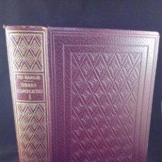 Libros de segunda mano: OBRAS COMPLETAS - PÍO BAROJA - TOMO I - BIBLIOTECA NUEVA - MADRID - 1946 - . Lote 75029107