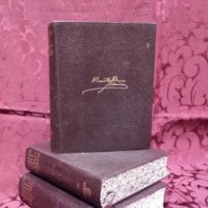 Libros de segunda mano: BLASCO IBÁÑEZ. OBRAS COMPLETAS. 3 TOMOS. SEGUNDA EDICIÓN 1949.. Lote 75731303