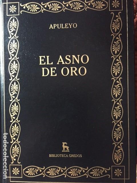 EL ASNO DE ORO. APULEYO (Libros de Segunda Mano (posteriores a 1936) - Literatura - Narrativa - Clásicos)