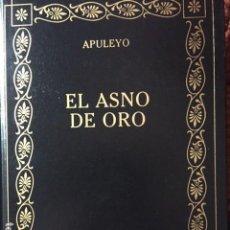 Libros de segunda mano: EL ASNO DE ORO. APULEYO. Lote 76056835