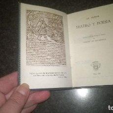 Libros de segunda mano: 155-TEATRO Y POESIA, GIL VICENTE, CRISOL 155, . Lote 76720755
