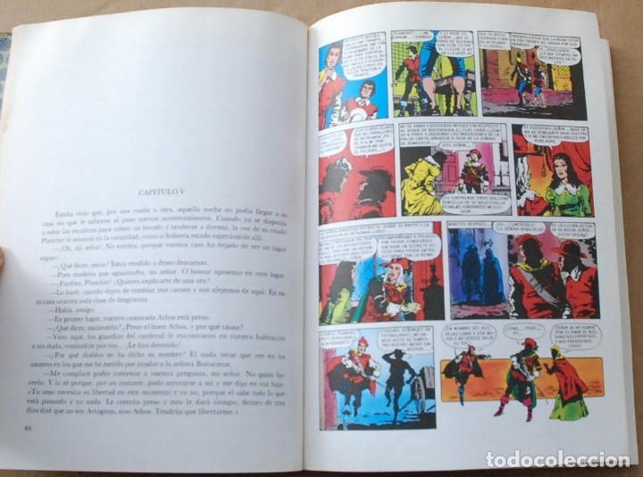 Libros de segunda mano: Los tres mosqueteros. Colección historias color nº 3. BRUGUERA . 1983. - Foto 2 - 77096413