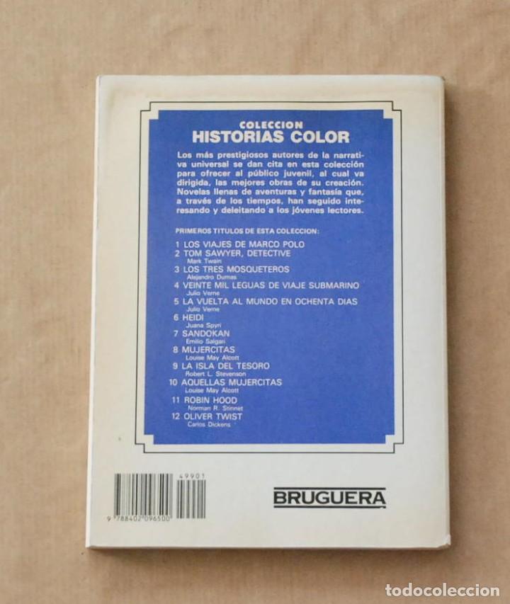 Libros de segunda mano: Los tres mosqueteros. Colección historias color nº 3. BRUGUERA . 1983. - Foto 3 - 77096413