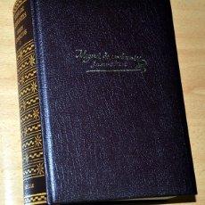 Libros de segunda mano: MIGUEL DE CERVANTES - OBRAS COMPLETAS - TOMO I: EL QUIJOTE + NOVELAS EJEMPLARES - EDIT. AGUILAR 2003. Lote 77647805