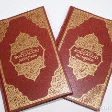 Libros de segunda mano: DECAMERON - GIOVANNI BOCCACCIO - DOS TOMOS - ILUSTRADO. Lote 78374681
