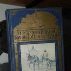 Libros de segunda mano: EL INGENIOSO HIDALGO DON QUIJOTE DE LA MANCHA - MIGUEL DE CERVANTES SAAVEDRA - 1948. Lote 79772229