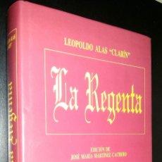 Libros de segunda mano: LA REGENTA / LEOPOLDO ALAS CLARIN / JOSE MARIA MARTINEZ CACHERO. Lote 80219773