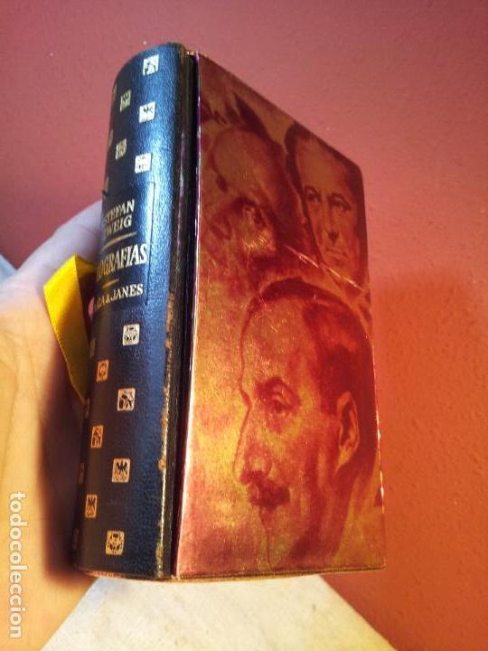 TRES POETAS DE SU VIDA --BIOGRAFIAS. ZWEIG STEFAN. PLAZA & JANÉS, EDITORES. 1961 EDICION LUJO (Libros de Segunda Mano (posteriores a 1936) - Literatura - Narrativa - Clásicos)