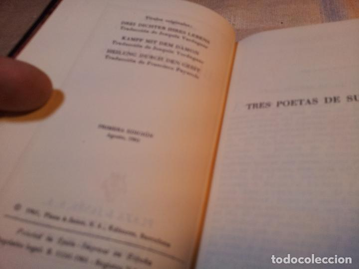 Libros de segunda mano: TRES POETAS DE SU VIDA --BIOGRAFIAS. ZWEIG Stefan. Plaza & Janés, editores. 1961 EDICION LUJO - Foto 6 - 80713342
