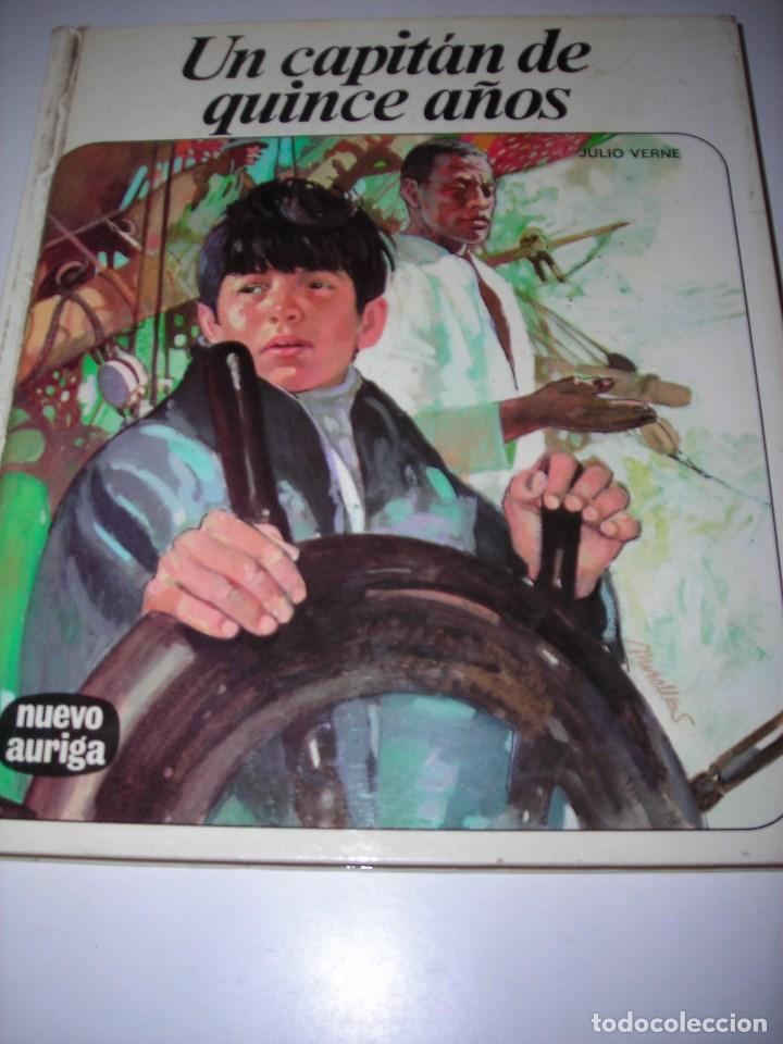 UN CAPITÁN DE 15 AÑOS (JULIO VERNE) (Libros de Segunda Mano (posteriores a 1936) - Literatura - Narrativa - Clásicos)