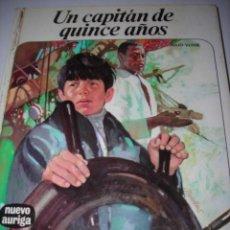 Libros de segunda mano: UN CAPITÁN DE 15 AÑOS (JULIO VERNE). Lote 80735470