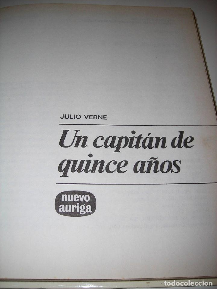 Libros de segunda mano: UN CAPITÁN DE 15 AÑOS (Julio Verne) - Foto 2 - 80735470
