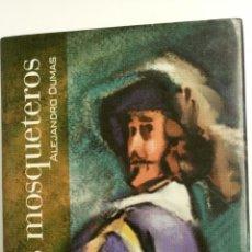 Libros de segunda mano: LOS TRES MOSQUETEROS, DE ALEJANDRO DUMAS. 570 PÁGINAS, TAPA DURA.. Lote 80952963
