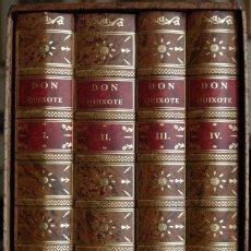 Libros de segunda mano: CERVANTES. DON QUIJOTE DE LA MANCHA. FACSIMIL DE LA EDICIÓN DE 1780 IMPRESA POR IBARRA, . Lote 81024116