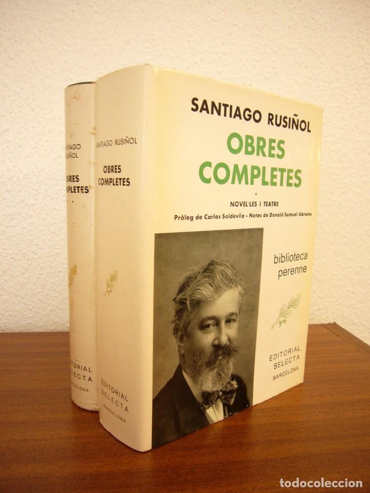 Libros de segunda mano: SANTIAGO RUSIÑOL: OBRES COMPLETES I I II (SELECTA, PERENNE, 1973 I 1976) MOLT BON ESTAT - Foto 2 - 82196568