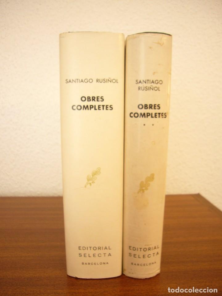 Libros de segunda mano: SANTIAGO RUSIÑOL: OBRES COMPLETES I I II (SELECTA, PERENNE, 1973 I 1976) MOLT BON ESTAT - Foto 4 - 82196568