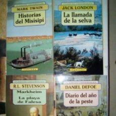 Libros de segunda mano: LOTE 4 LIBROS CLÁSICOS DE BOLSILLO. Lote 82332538