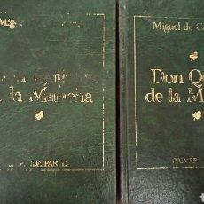Libros de segunda mano: DON QUIJOTE DE LA MANCHA, DE MIGUEL DE CERVANTES. (LAS 2 PARTES). Lote 82648176
