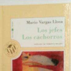 Libros de segunda mano: LOS JEFES. LOS CACHORROS, DE MARIO VARGAS LLOSA, PRÓLOGO DE ROBERTO BOLAÑO .. Lote 82734002