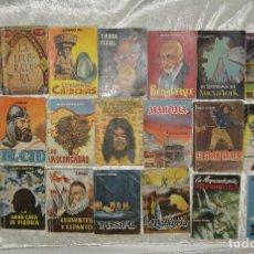 Libros de segunda mano: LOTE 81 LIBROS PULGA AÑOS 50. Lote 83370831