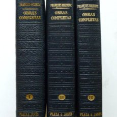 Libros de segunda mano: FRANCOIS MAURIAC OBRAS COMPLETAS LOS CLASICOS DEL SIGLO XX PLAZA Y JANES BUEN ESTADO. Lote 83455680