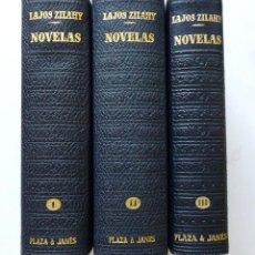 Libros de segunda mano: LAJOS ZILAHY OBRAS COMPLETAS LOS CLASICOS DEL SIGLO XX PLAZA Y JANES MUY BUEN ESTADO. Lote 83468256