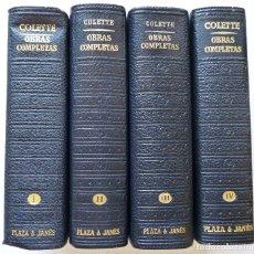 Libros de segunda mano: COLETTE OBRAS COMPLETAS LOS CLASICOS DEL SIGLO XX PLAZA Y JANES. Lote 83476148