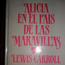 Libros de segunda mano: ALICIA EN EL PAÍS DE LAS MARAVILLAS, LEWIS CARROLL, ED. 29. Lote 83715496