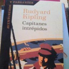 Libros de segunda mano: KIPLING, RUDYARD - CAPITANES INTRÉPIDOS (PLAZA & JANES, 2000) - ESCASA EDICIÓN. Lote 84639784